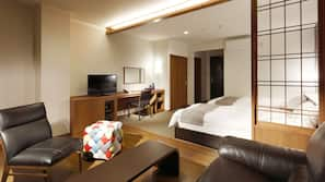 객실 내 금고, 책상, 무료 WiFi, 침대 시트