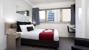 Down duvets, in-room safe, blackout curtains, iron/ironing board