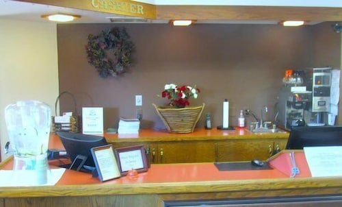 Check-in/Check-out Kiosk, Spring Valley Inn