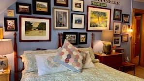 Egyptian cotton sheets, premium bedding, pillowtop beds, free WiFi