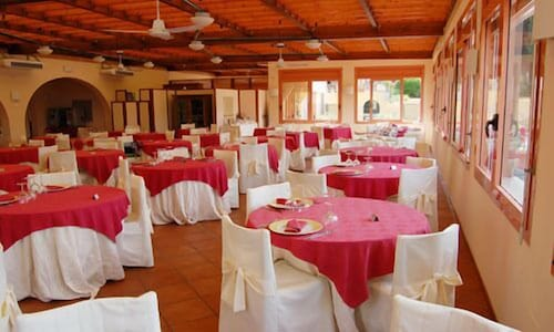 Restaurant, Resort La Mandola