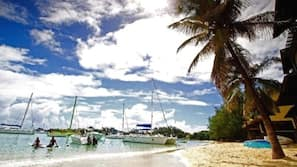 Beach nearby, motor boating, fishing