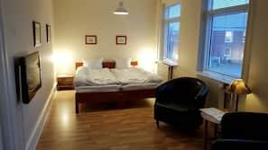 Allergivenligt sengetøj, strygejern/strygebræt, gratis Wi-Fi, sengetøj