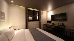 高級寢具、羽絨被、免費 Wi-Fi、床單