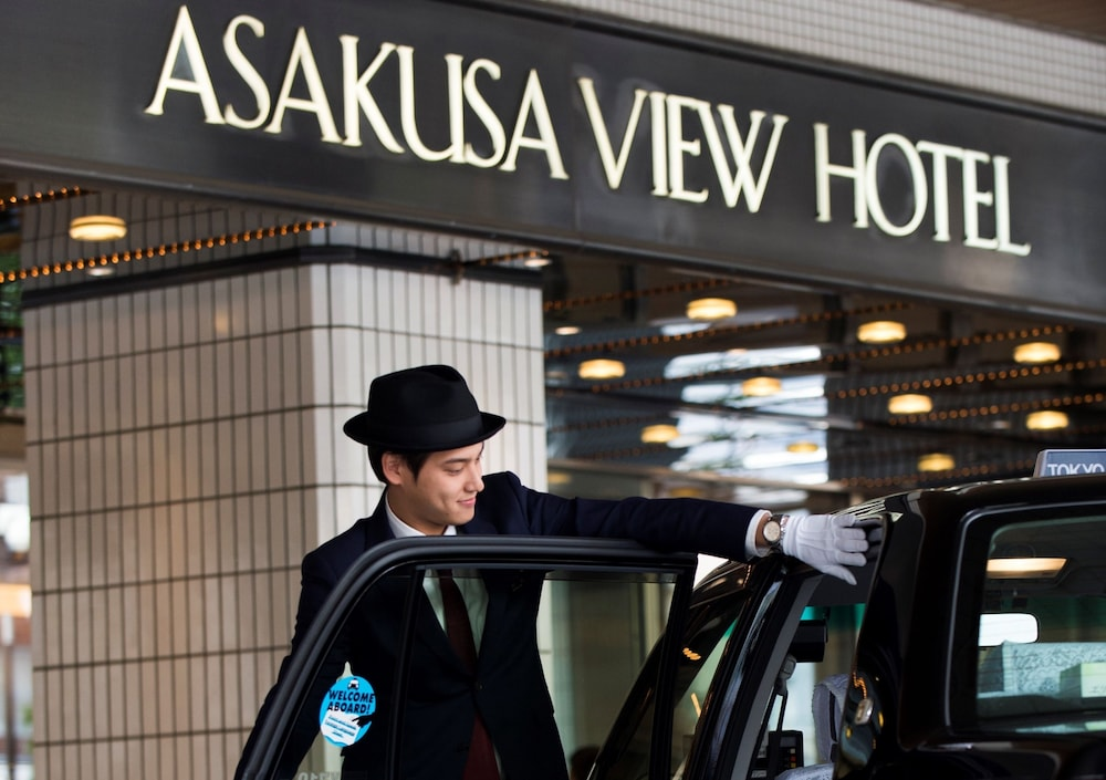 Property Entrance, Asakusa View Hotel
