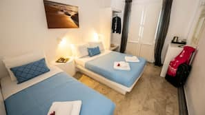 Individually furnished, soundproofing, iron/ironing board, free WiFi