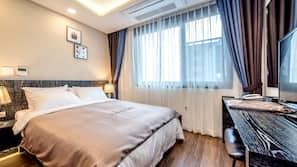 高級寢具、羽絨被、免費 Wi-Fi