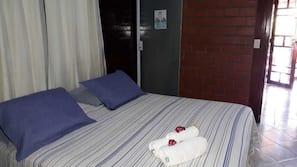 Premium bedding, blackout drapes, bed sheets