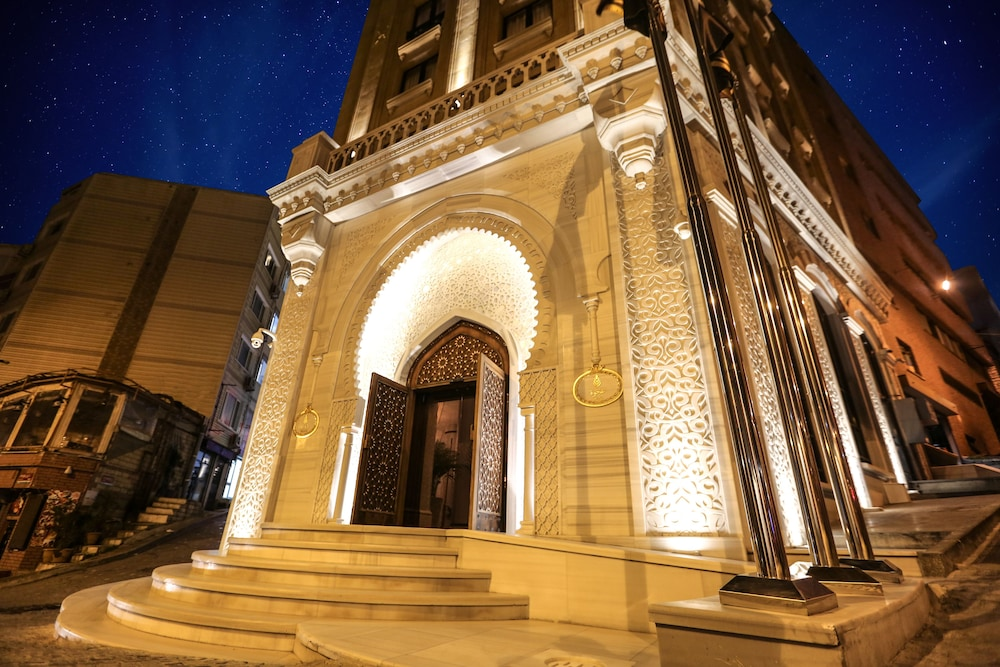 Front of Property - Evening/Night, Ajwa Hotel Sultanahmet