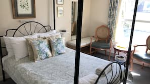 Desk, iron/ironing board, free cots/infant beds, free WiFi