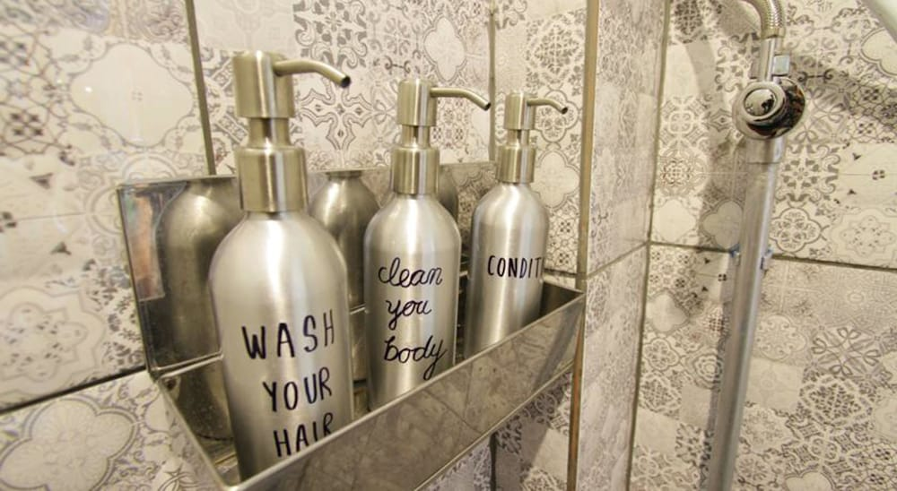 Bathroom Amenities, Above the Sea Guesthouse