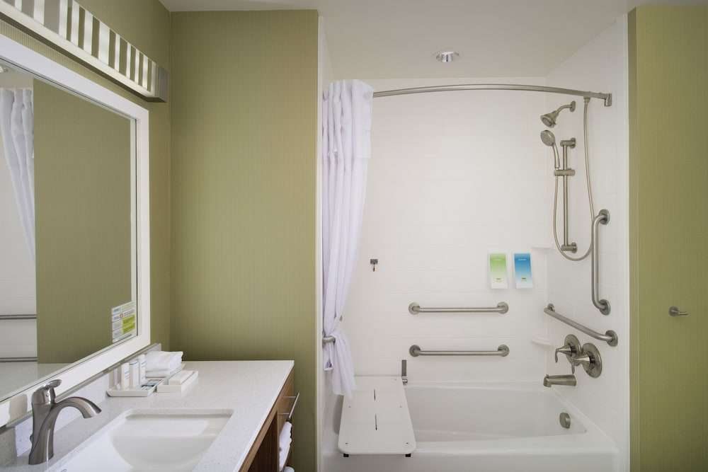 Bathroom, Home2 Suites by Hilton Denver International Airport