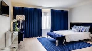 1 dormitorio, caja fuerte, escritorio