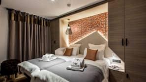 1 bedroom, premium bedding, in-room safe, free cots/infant beds