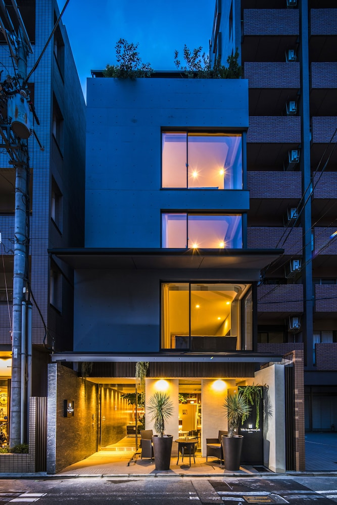 Front of Property - Evening/Night, Villa Sanjo Muromachi Kyoto