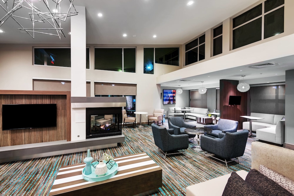 Lobby, Residence Inn by Marriott Austin Airport