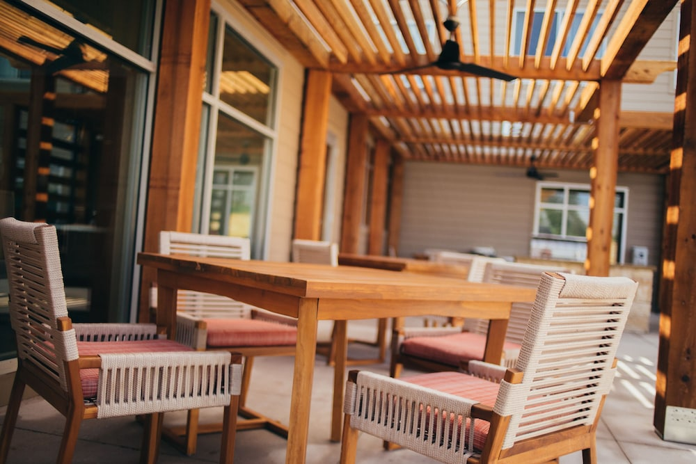 Terrace/Patio, Residence Inn by Marriott Austin Airport