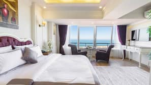 Free minibar items, soundproofing, rollaway beds, free WiFi