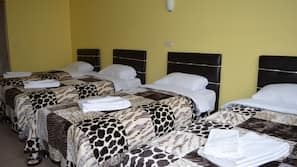 Desk, free cribs/infant beds, rollaway beds, free WiFi