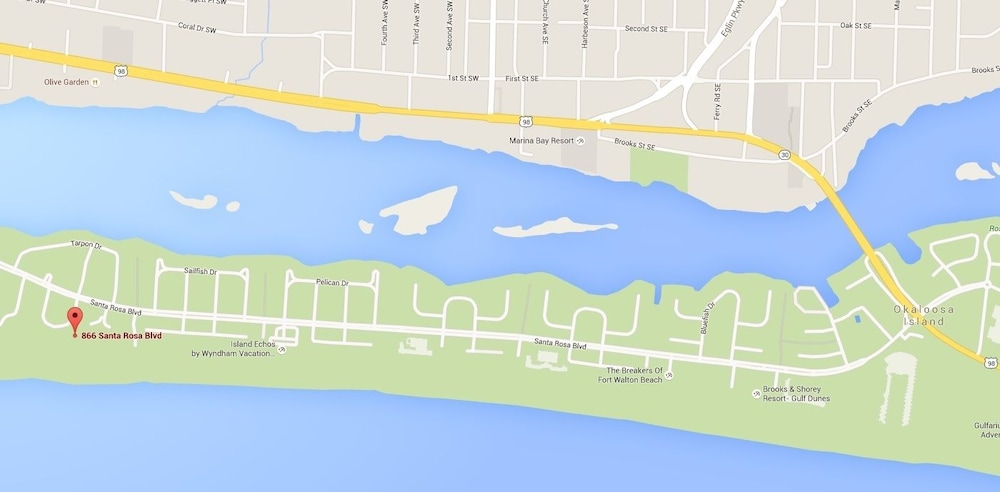 Pelican Isle 407 by RedAwning in Fort Walton Beach | Hotel Rates ...