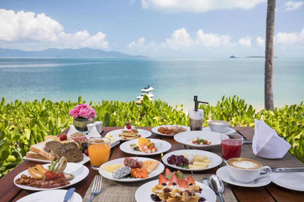 Breakfast buffet, Hansar Samui Resort & Spa