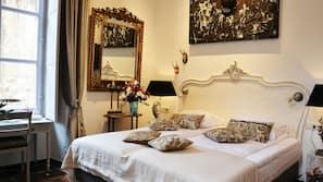 Biancheria da letto di alta qualità, copriletto in piuma