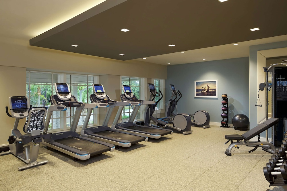 Fitness Facility, Ocean Oak Resort By Hilton Grand Vacations