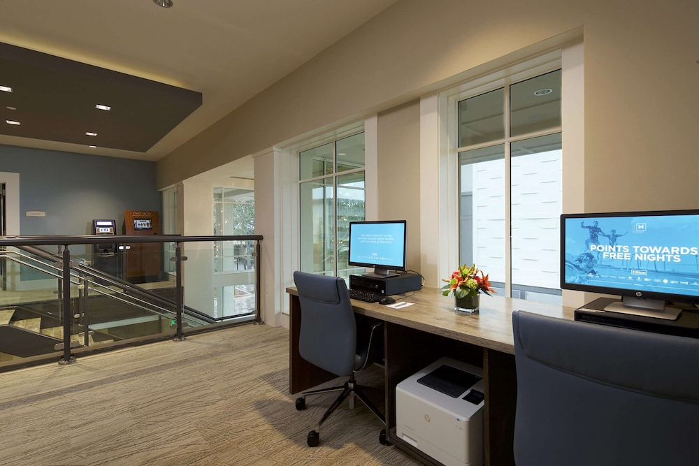 Business Center, Ocean Oak Resort By Hilton Grand Vacations