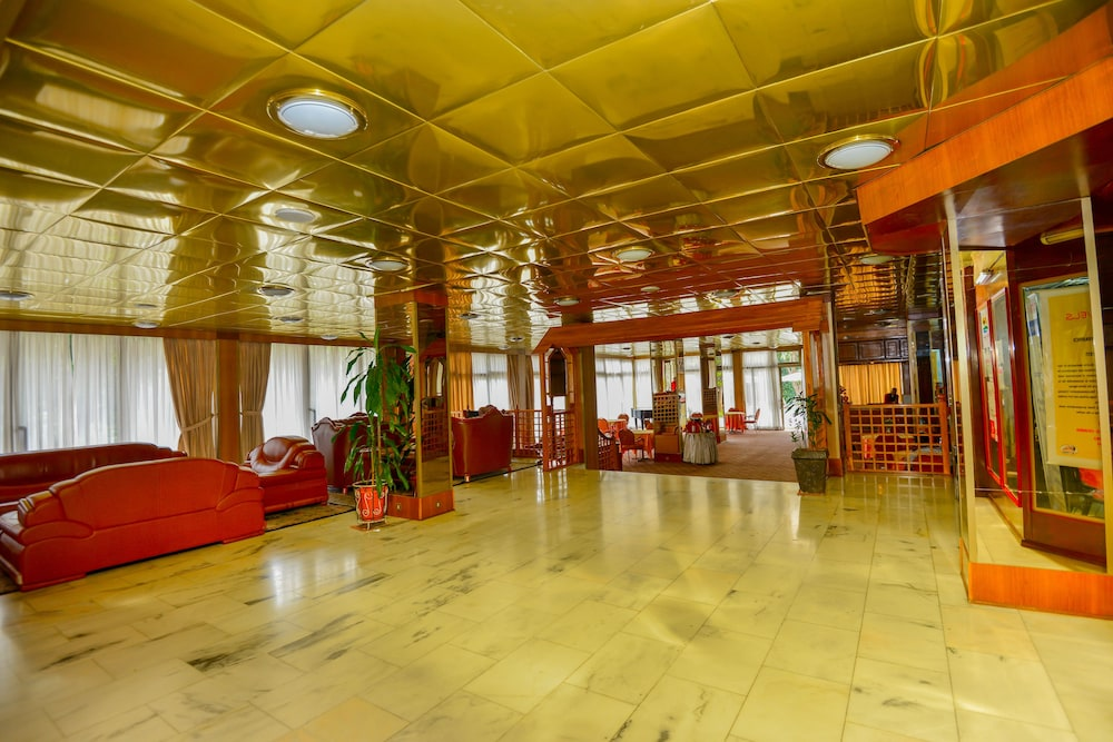 Interior Entrance, Ghion Hotel