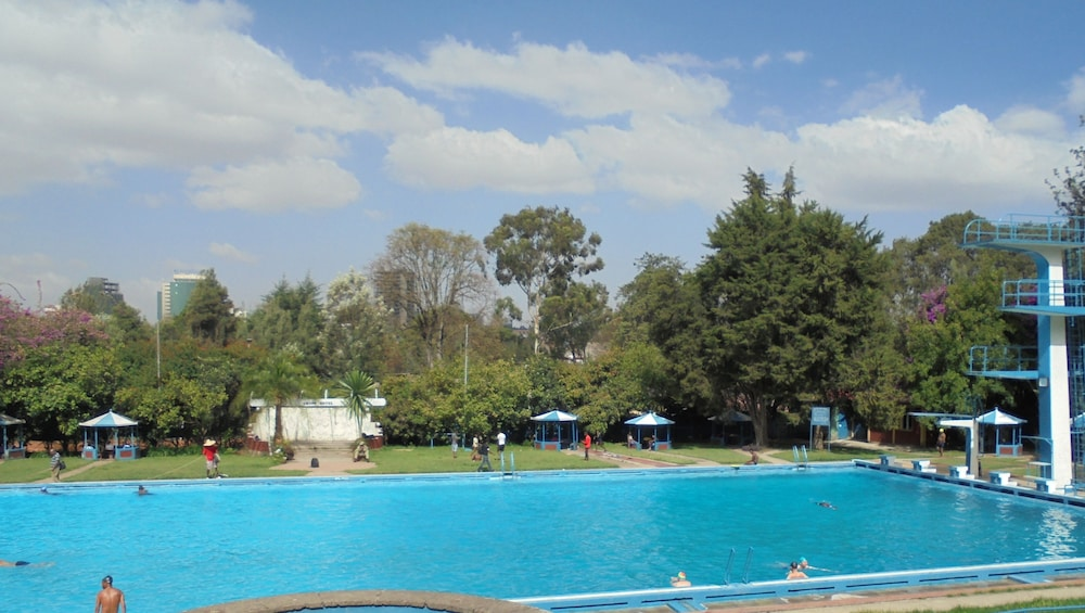 Outdoor Pool, Ghion Hotel