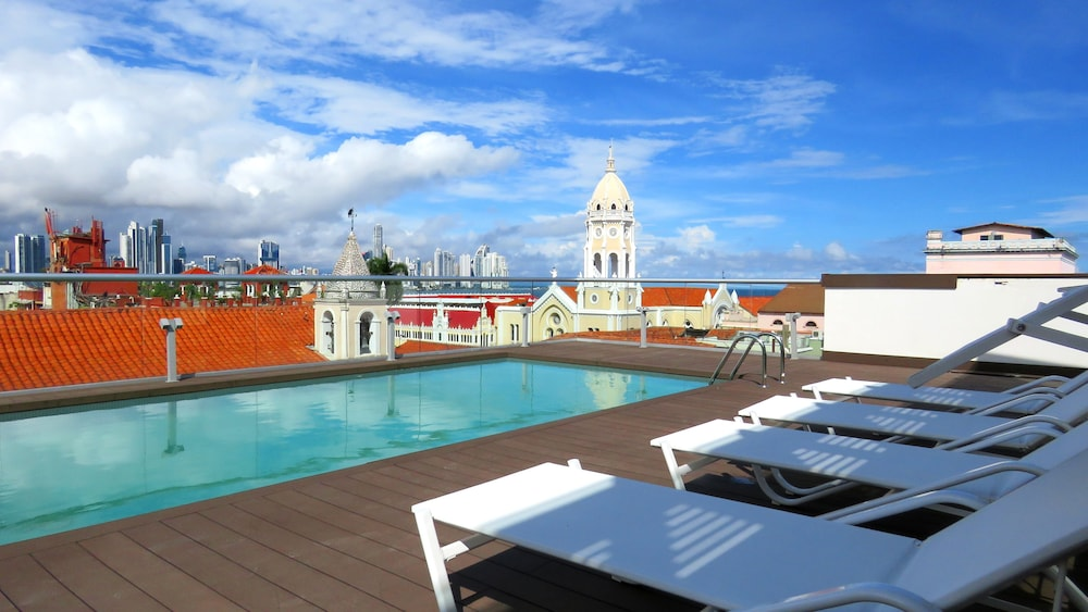 Rooftop Pool, Central Hotel Panama