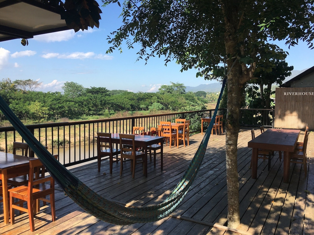 View from Property, Riverhouse Hotel (The Teak House)