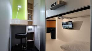 房內夾萬、書桌、免費 Wi-Fi、方便輪椅出入