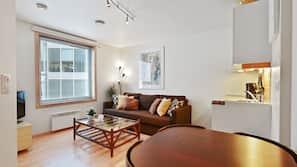 1 bedroom, premium bedding, individually decorated, laptop workspace