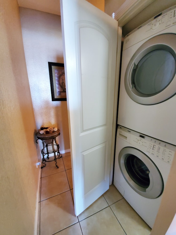 Laundry, South Padre Resort Rentals