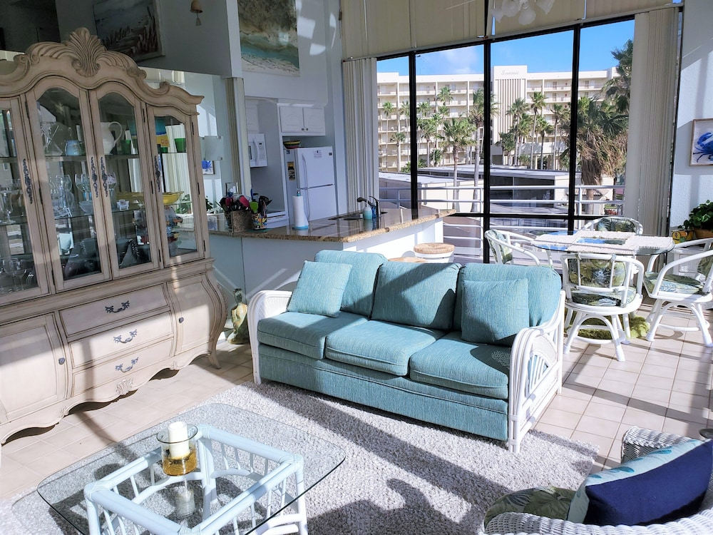 Living Area, South Padre Resort Rentals