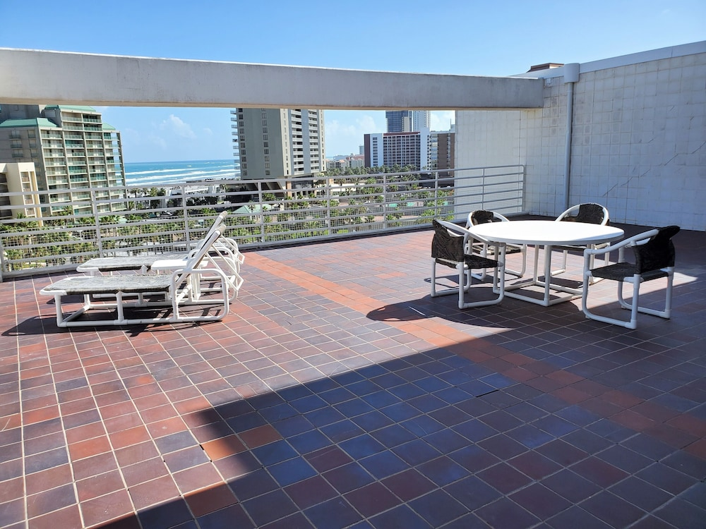 Terrace/Patio, South Padre Resort Rentals