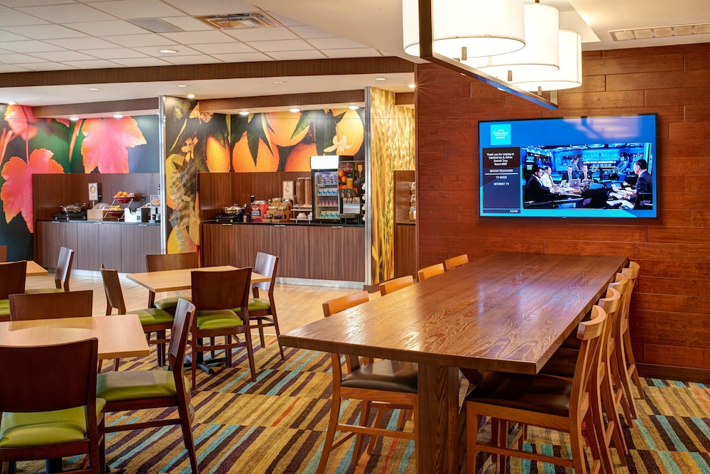 Breakfast Area, Fairfield Inn & Suites by Marriott Detroit Troy