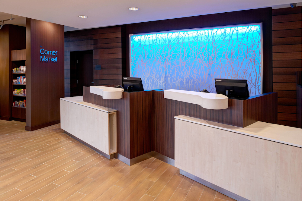 Lobby, Fairfield Inn & Suites by Marriott Detroit Troy