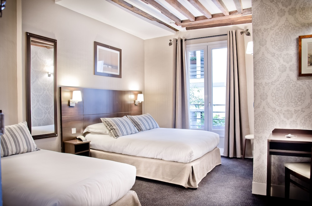 H tel excelsior latin in paris hotel rates reviews on for Chambre d hotel france