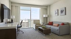 Premium bedding, down duvet, in-room safe, desk