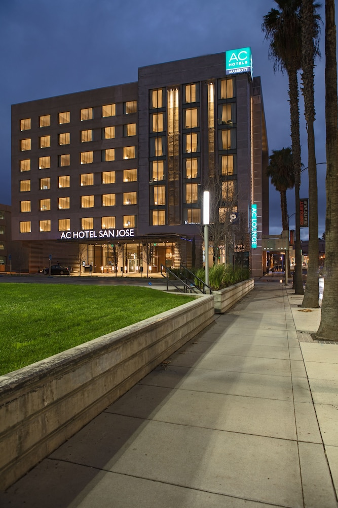 Front of Property - Evening/Night, AC Hotel by Marriott San Jose Downtown