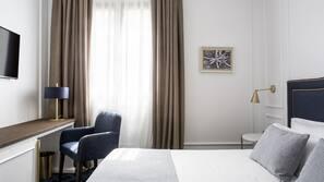 Minibar, värdeförvaringsskåp på rummet, skrivbord och gratis wi-fi