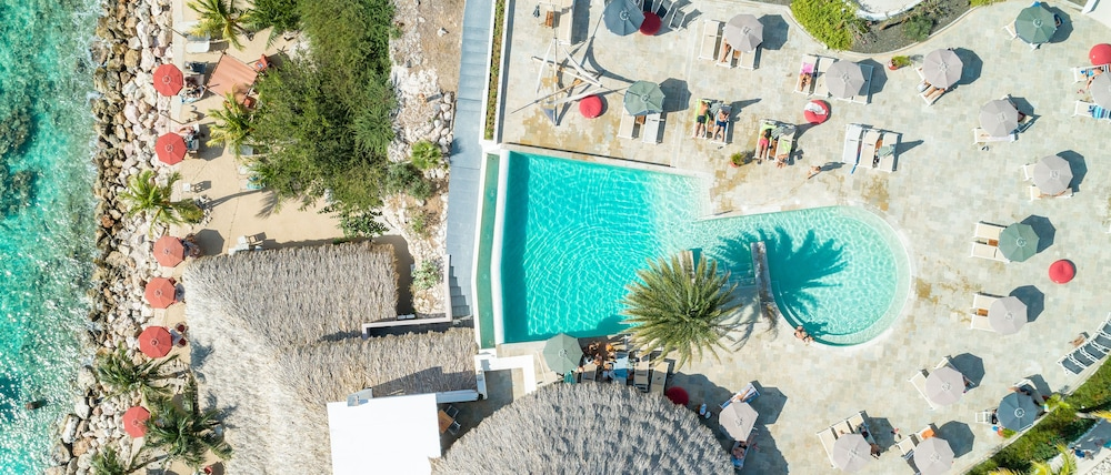 Aerial View, Oasis Coral Estate Beach, Dive & Wellness Resort