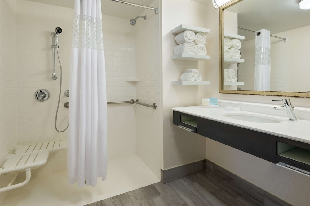 Bathroom, Hampton Inn & Suites Tampa Airport Avion Park Westshore