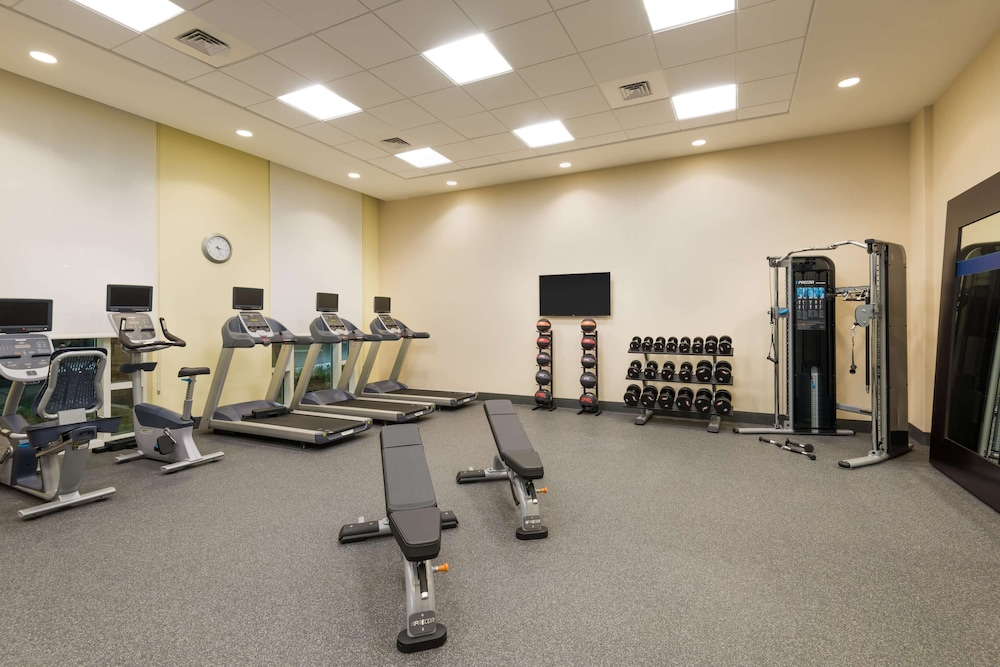 Fitness Facility, Hampton Inn & Suites Tampa Airport Avion Park Westshore