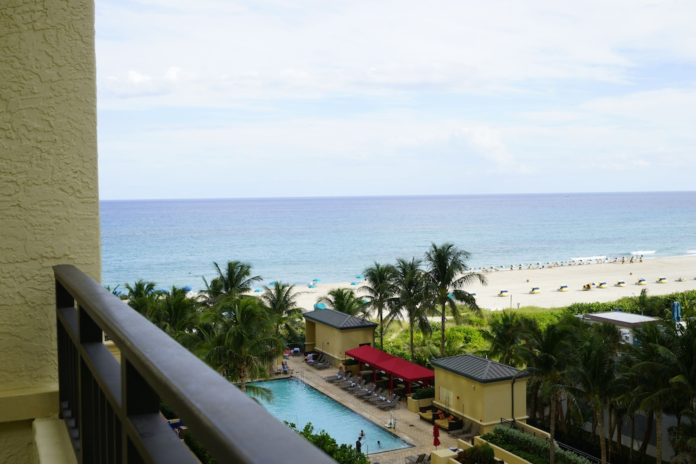 Balcony View, Palm Beach Singer Island Resort & Spa Luxury Suites