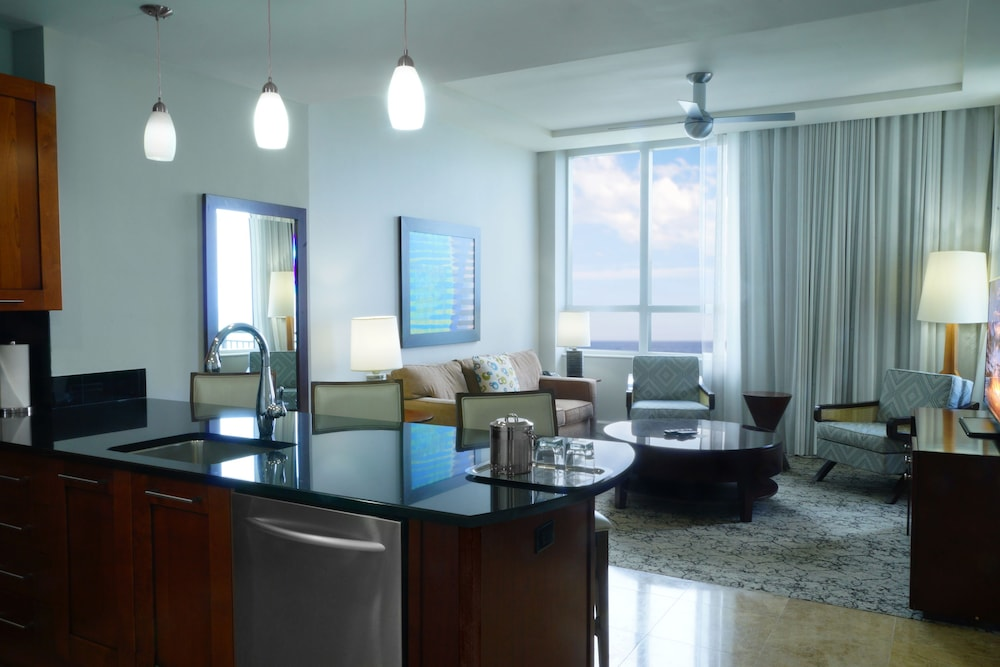 Living Area, Palm Beach Singer Island Resort & Spa Luxury Suites
