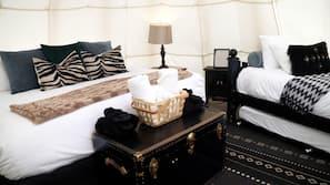 高級寢具、記憶棉床墊、房內夾萬、Wi-Fi (收費)