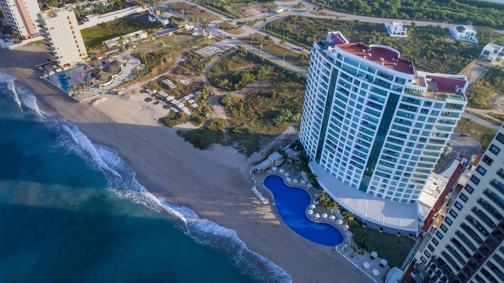Aerial View, Park Royal Beach Mazatlán